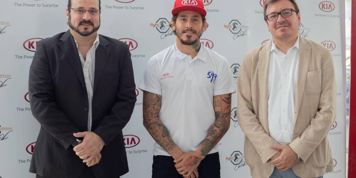 """Kia Motors apoya a Marlon """"El Chito"""" Vera"""