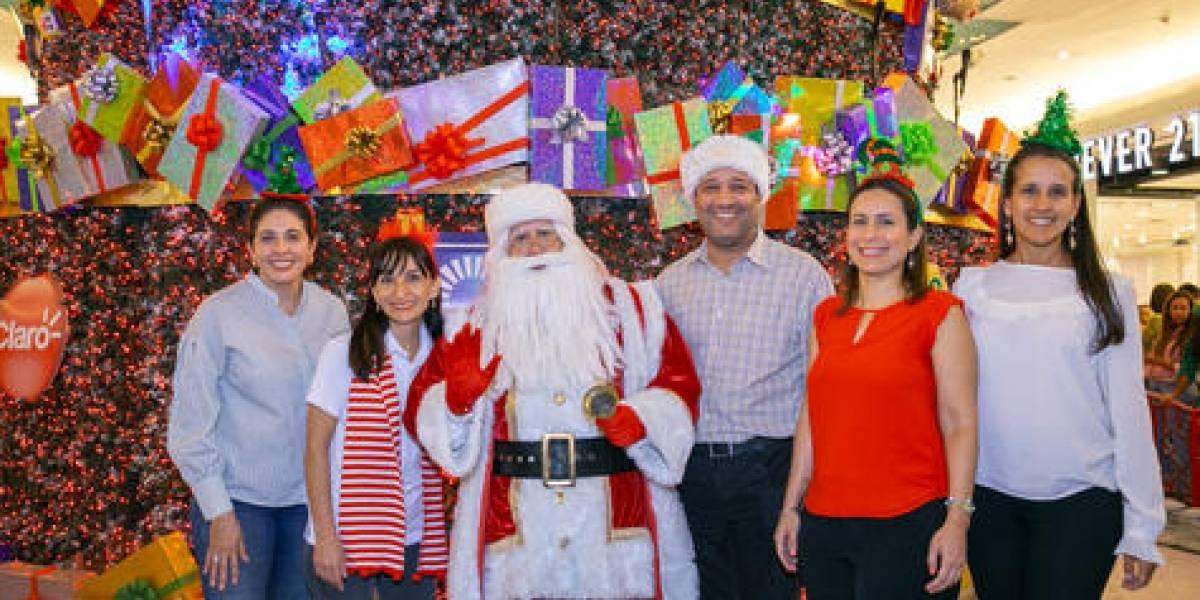 #TeVimosEn: Ágora Mall celebra la magia de la Navidad