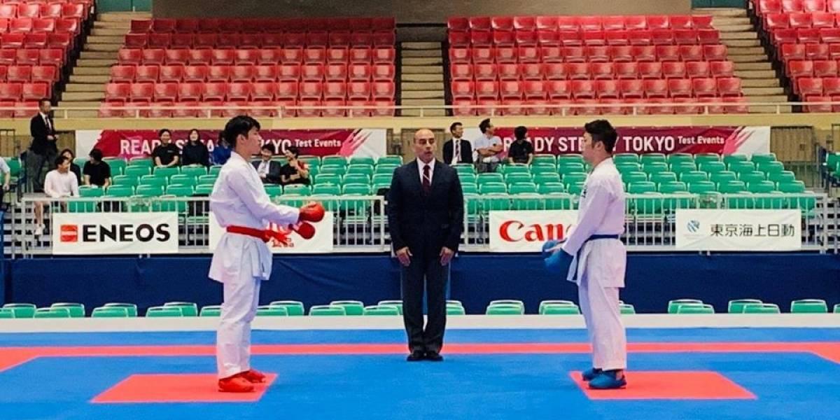 Árbitro guatemalteco de karate seleccionado para Juegos Olímpicos Tokio 2020