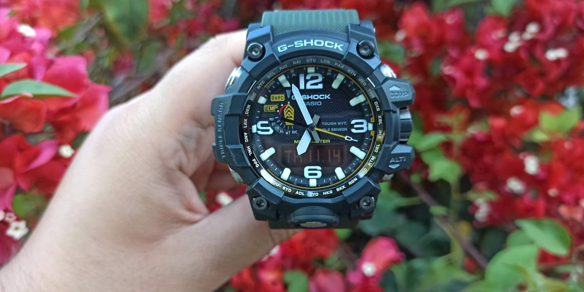 "No es ""smart"" y ese es el punto: Review del Casio G-Shock Mudmaster GWG-1000 [FW Labs]"