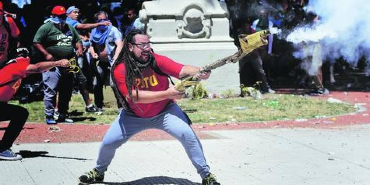 """El prófugo """"Mortero"""" solidarizó con Chile"""