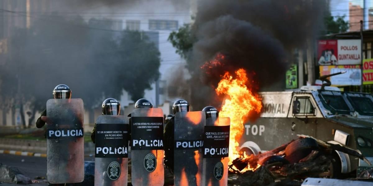 VIDEO. Tres muertos en choques con policías en Bolivia