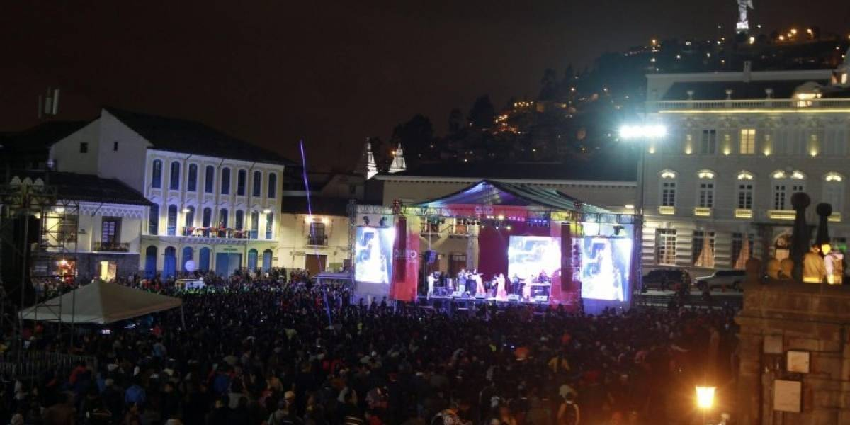 Vías que se cierran por el Pregón de Fiestas de Quito 2019