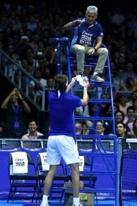Exhibición Federer-Zverev