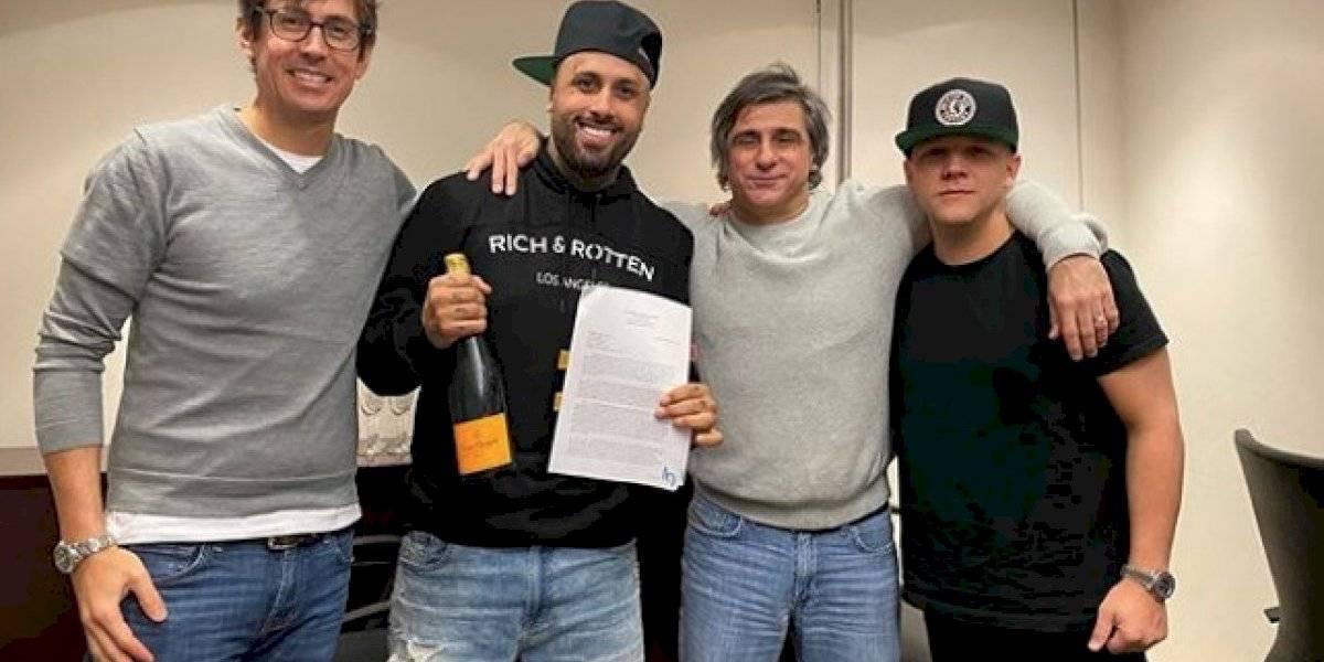 Nicky Jam firma uno de los mejores negocios de su vida