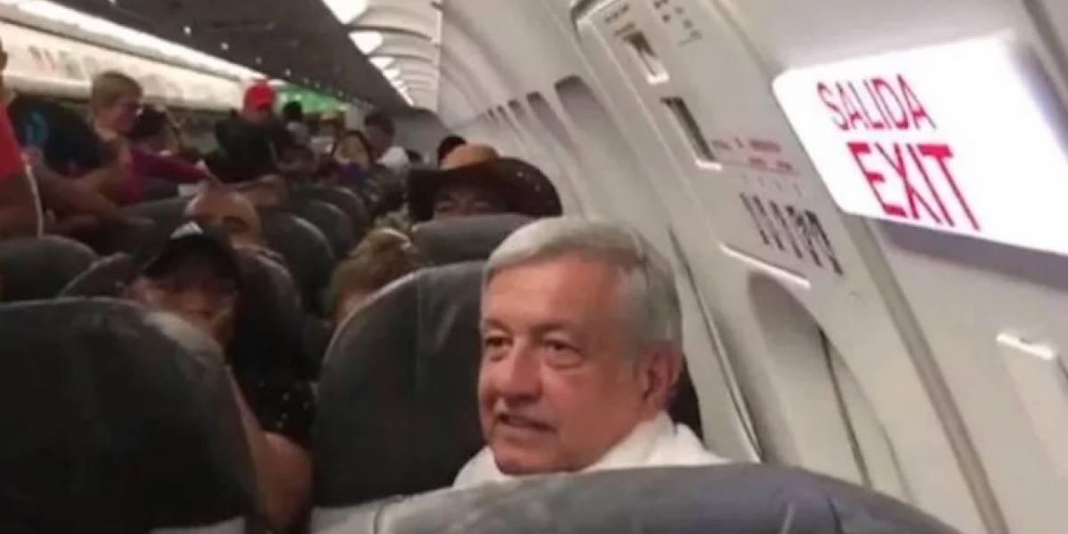 Aeroméxico solicita informe a piloto que pidió a AMLO continuar con NAIM en Texcoco