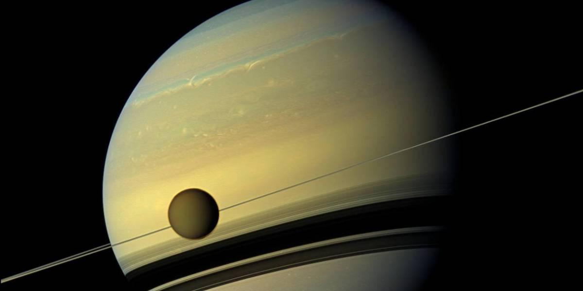 Astrónomos dibujan el primer mapa de la Luna Titán