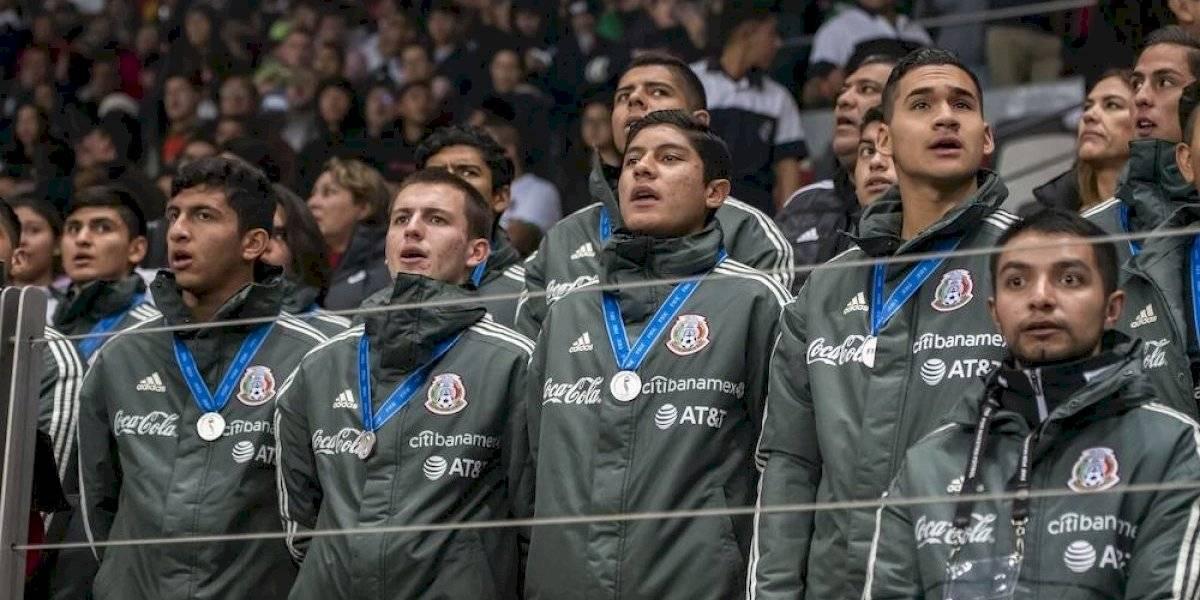 Rinden homenaje al Tricolor Sub-17 en el Nemesio Díez
