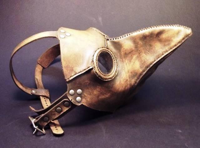 Peste Negra máscara