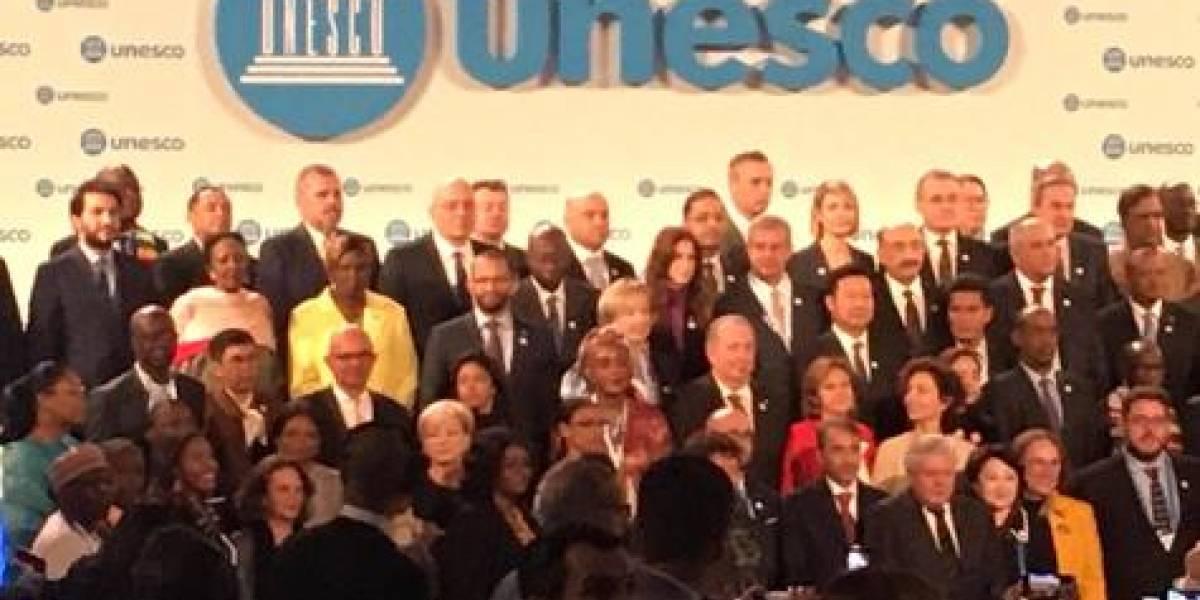 Eduardo Selman participó en la reunión de ministros de Cultura convocada por la UNESCO en París