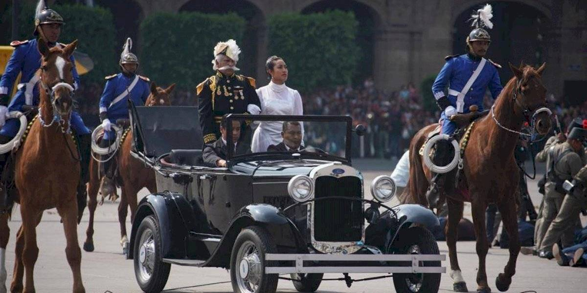 FOTOS: Así se vivió la escenificación y el desfile de la Revolución