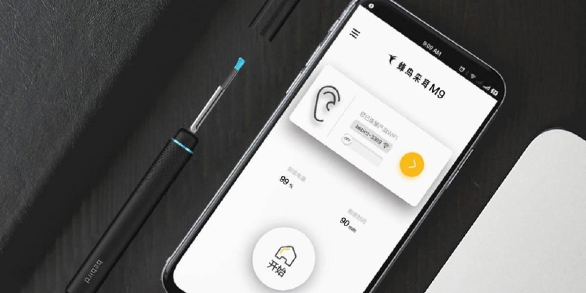 Xioami lanza un dispositivo, con cámara y Wi-Fi, para limpiarse los oídos