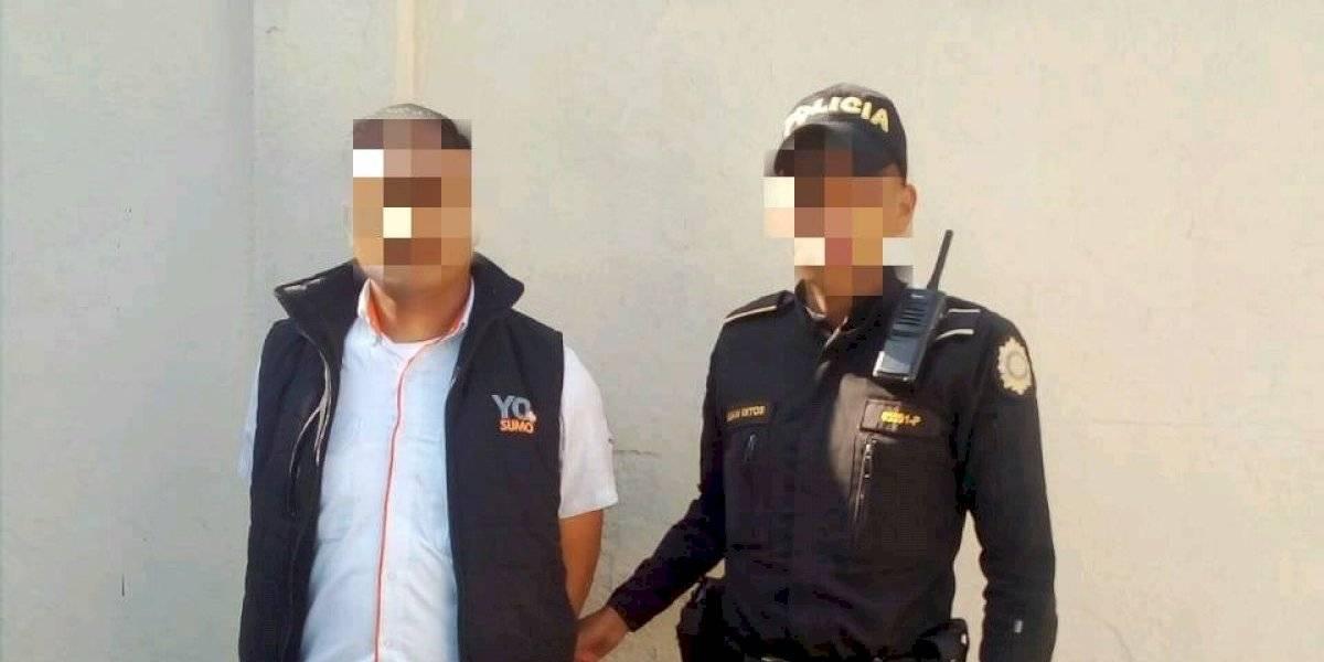 Capturan a hombre en estación de Transmetro por agresión sexual a usuaria