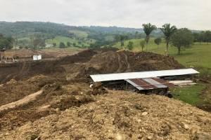 allanamientos por explotación de jade en Izabal