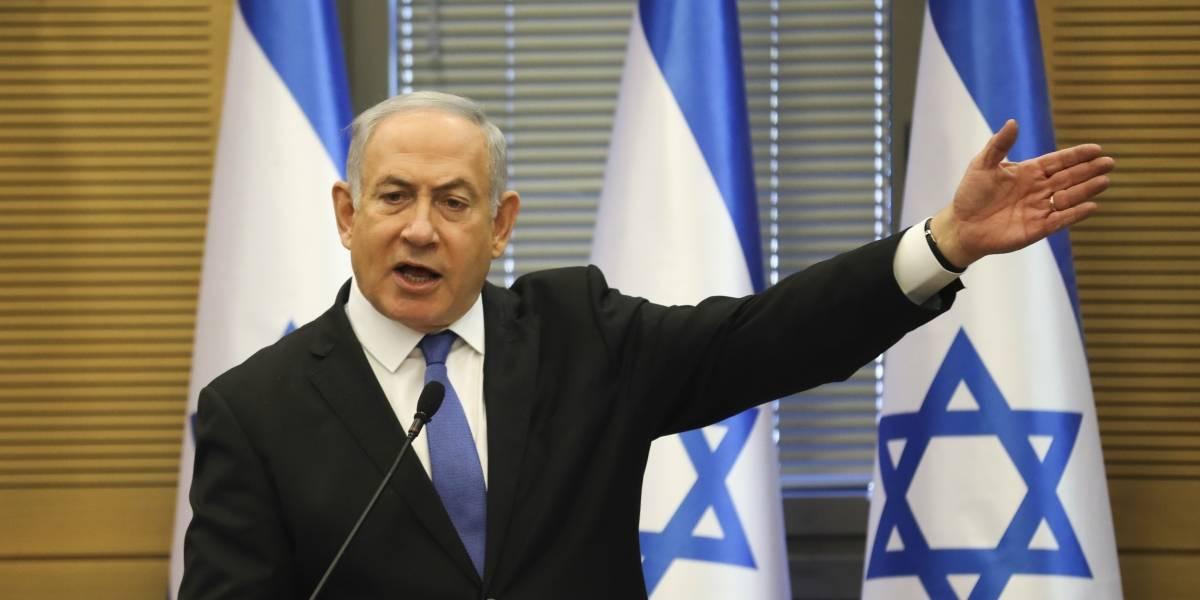"""Netanyahu denuncia """"golpe de Estado"""" tras ser acusado por corrupción"""