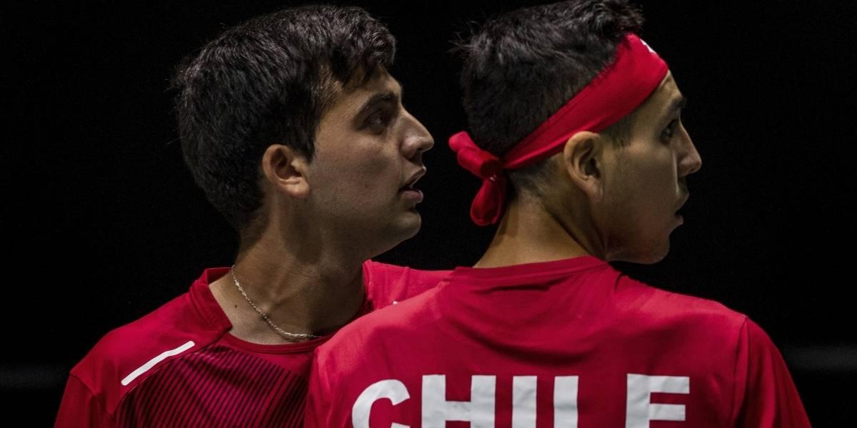 El esfuerzo de la dupla Barrios-Tabilo no alcanzó y Alemania le ganó la serie a Chile en la Copa Davis