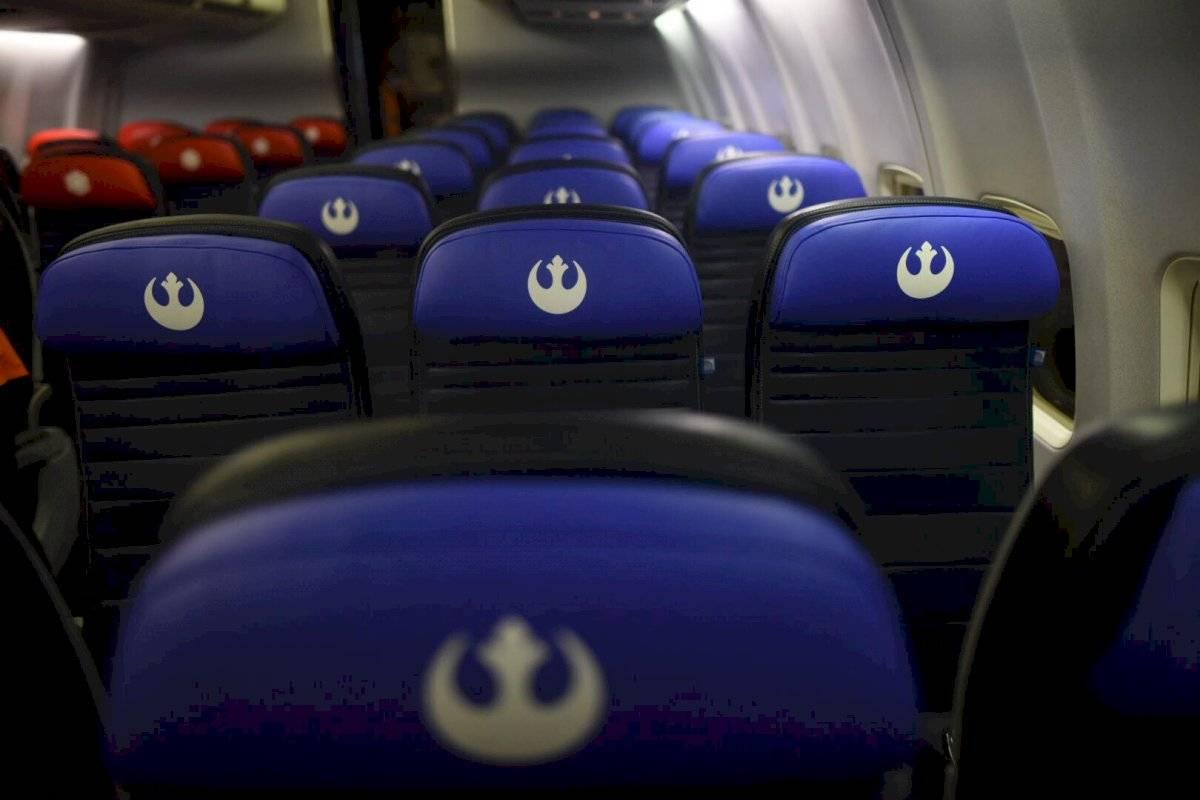 Asientos del Boeing de United con temática de Star Wars: The Rise of the Skywalker Edwin Bercián