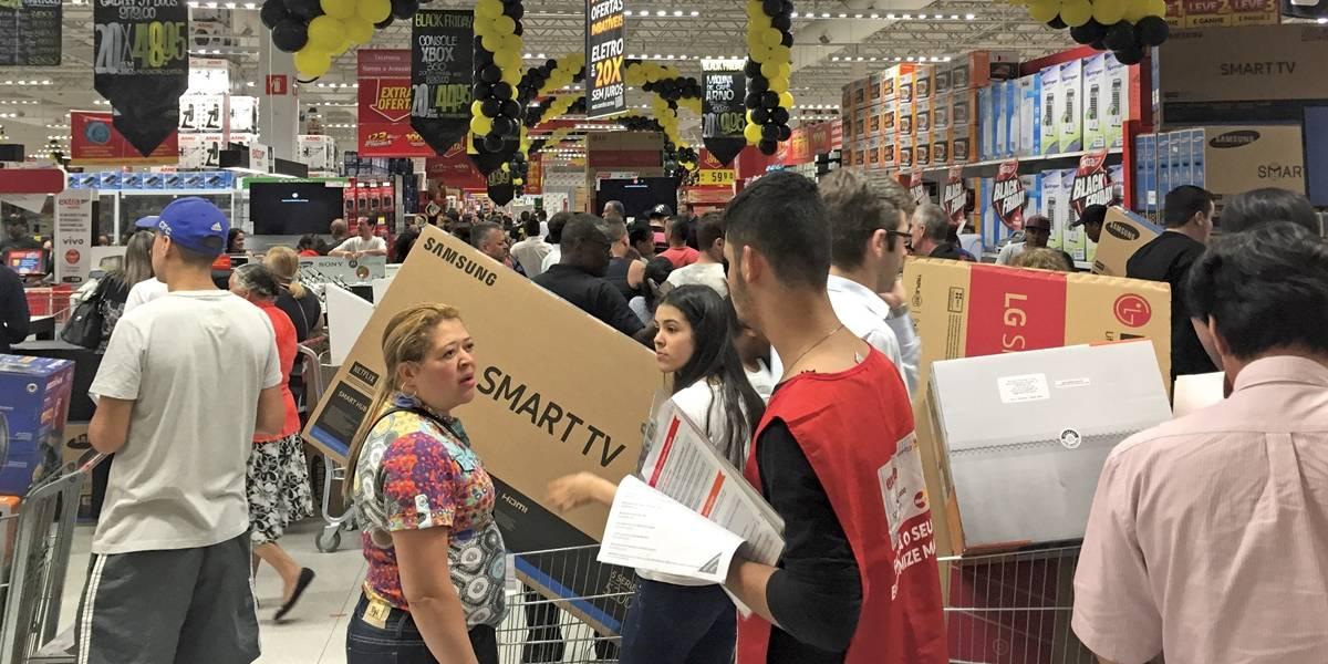 Consumidor já encontra descontos da Black Friday