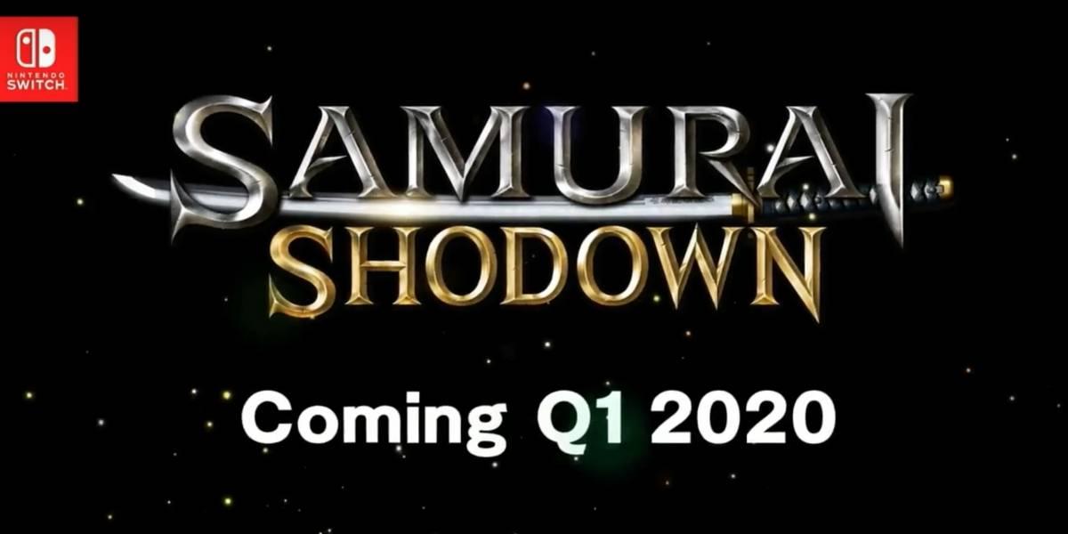 Samurai Shodown para Nintendo Switch chega ao Brasil no1º trimestre de 2020