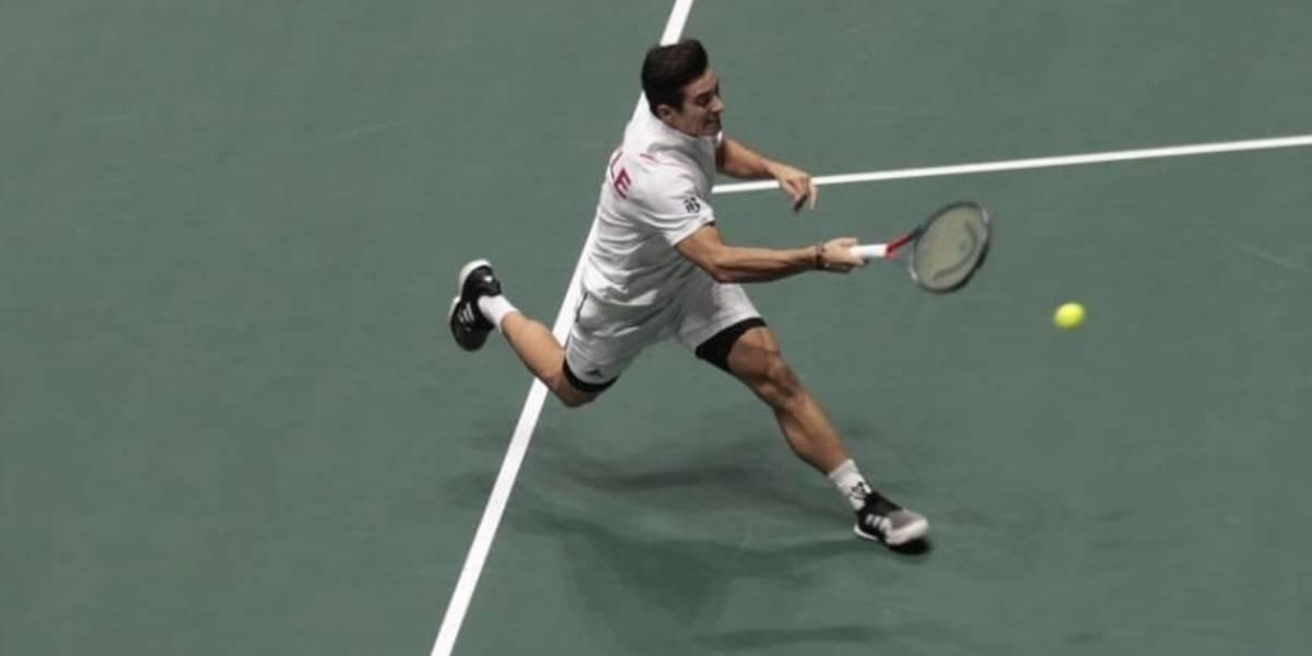 Un luchador Garin salvó el honor de Chile y nos dio el primer triunfo en las Finales de la Copa Davis