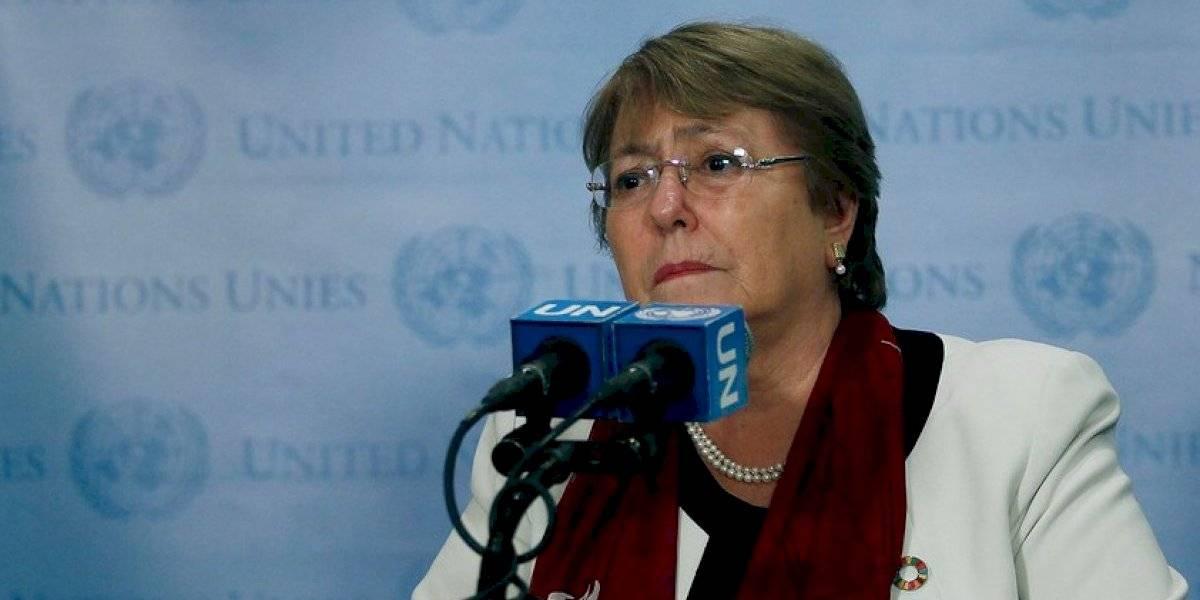 """Bachelet en Cambridge: """"Los protocolos de Carabineros no están siendo seguidos en el uso de balines"""""""