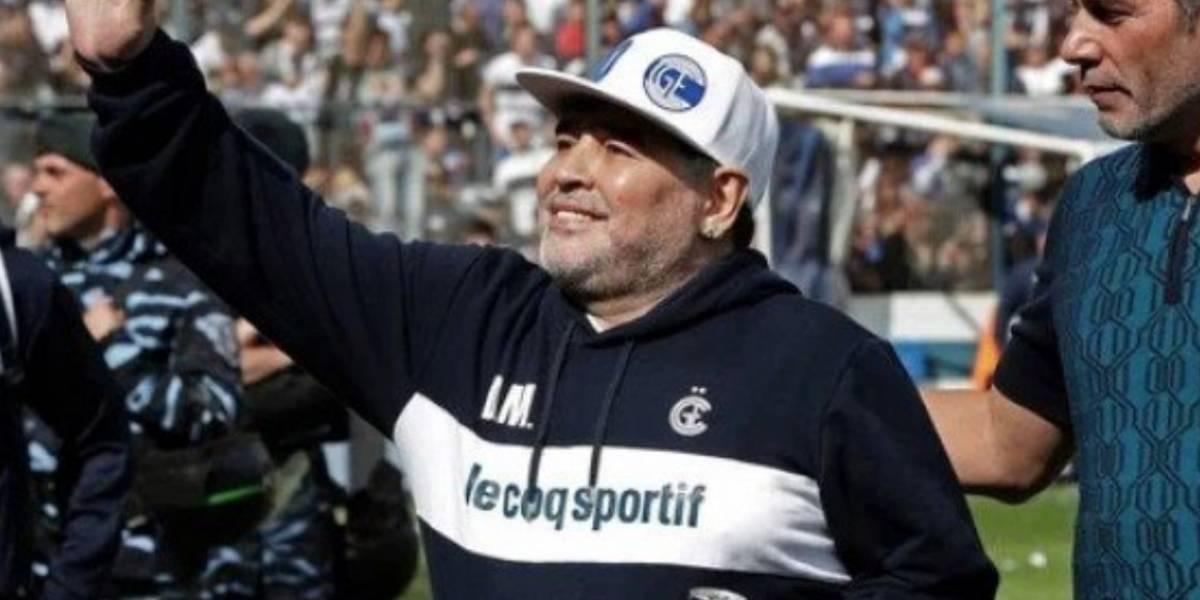 Voltereta olímpica a lo Tomás González: Maradona no se va y continúa como DT de Gimnasia y Esgrima de La Plata