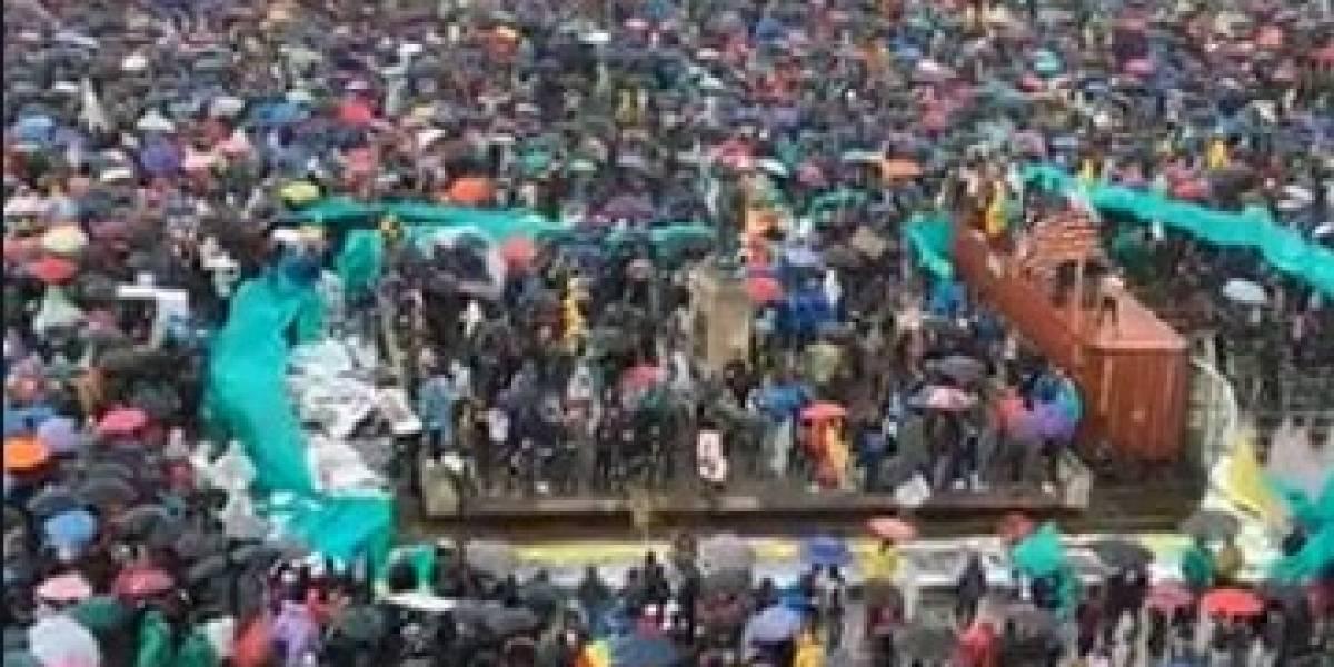 Investigan ataque a joven herido durante manifestaciones en Bogotá