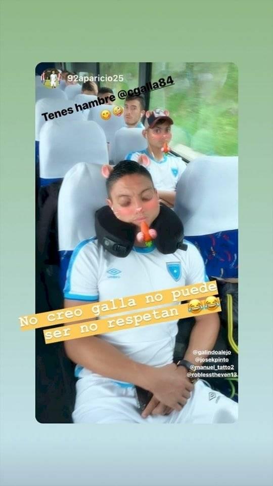 Carlos Gallardo víctima de los filtros de Instagram