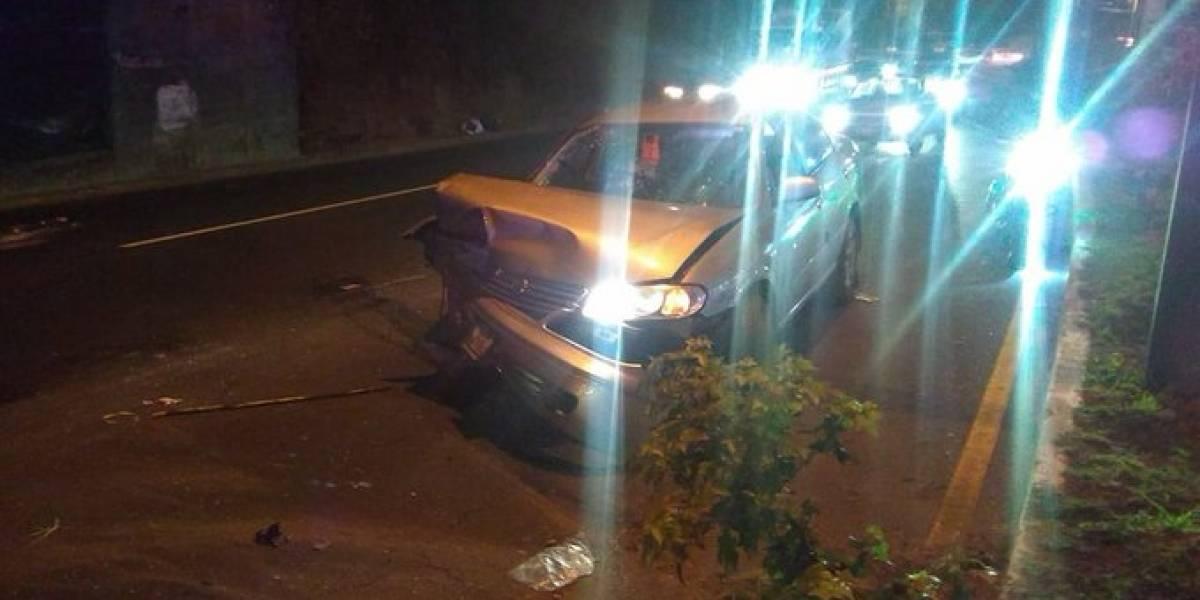 Autoridades de tránsito reportan colisiones y personas atropelladas