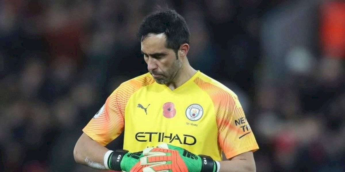 ¿Adiós Europa? Claudio Bravo podría dejar Manchester City para irse a Estados Unidos