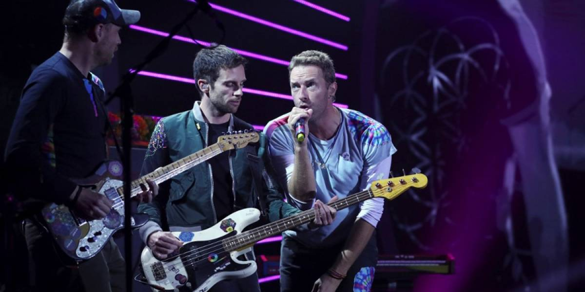 VIDEO. Coldplay cancela su gira para no contaminar el planeta
