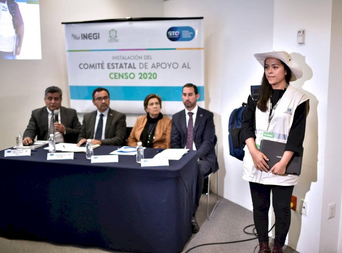Presentación Censo 2020 en Guanajuato