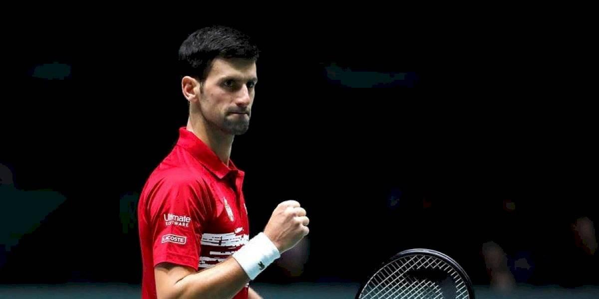 Djokovic confirma a Serbia como primera de grupo, en Copa Davis
