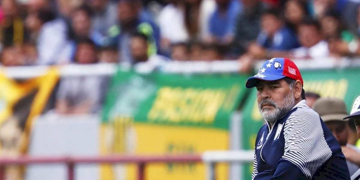 Maradona vuelve al Gimnasia dos días después de haber renunciado