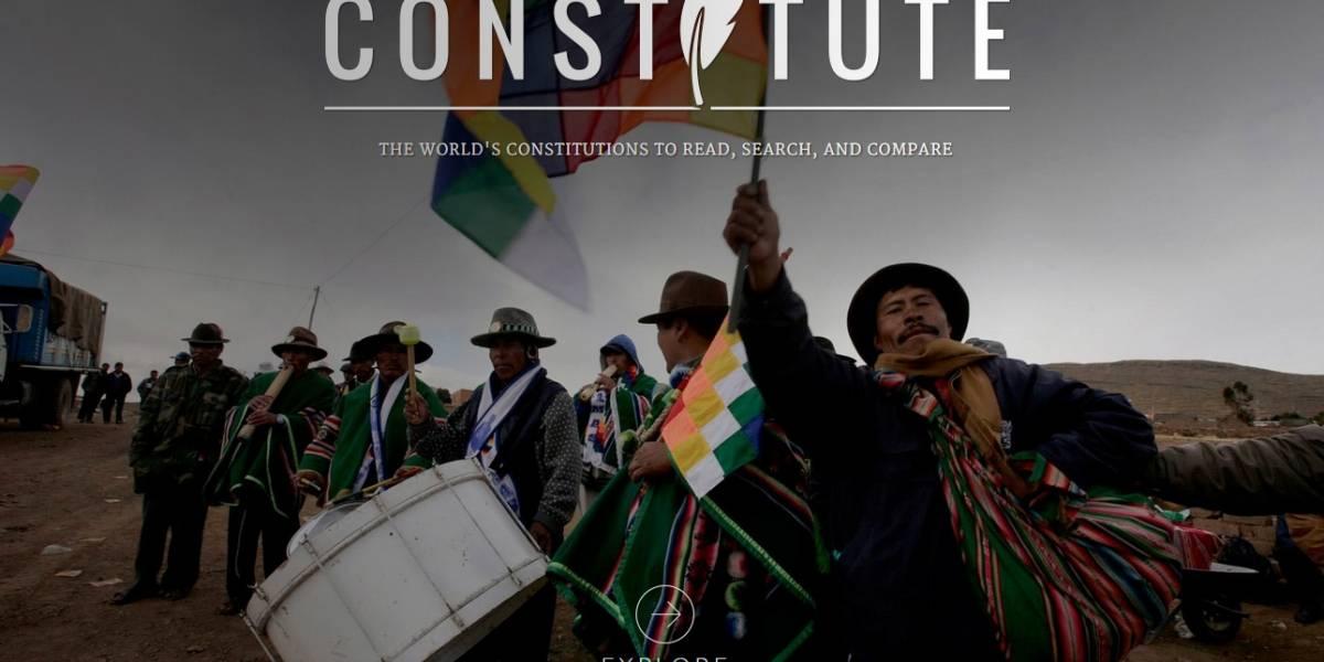 Constitute Project: El sitio web que permite comparar constituciones del mundo y leerlas todas
