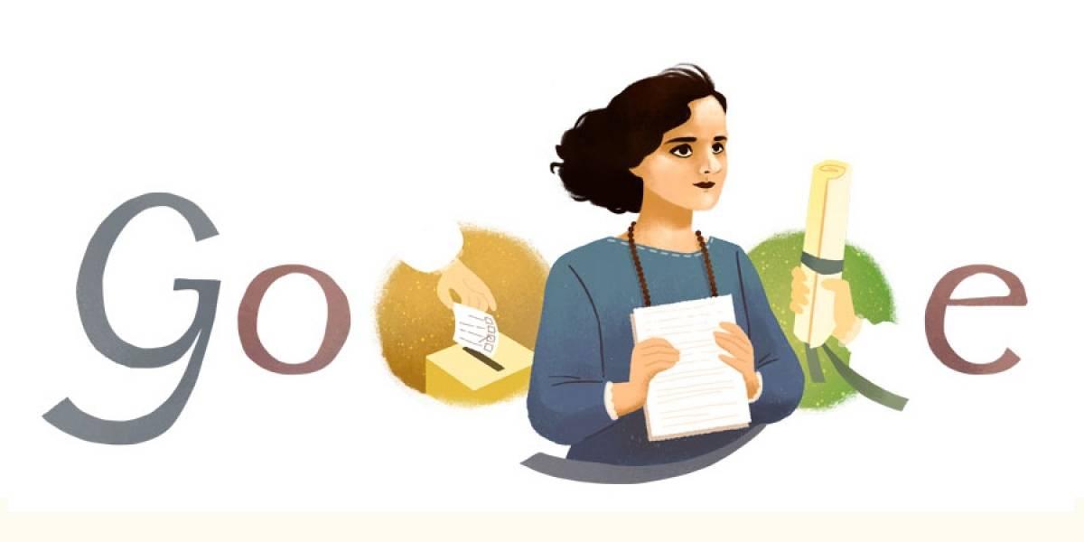 Google rinde homenaje a Matilde Hidalgo de Procel, primera mujer votante de América Latina