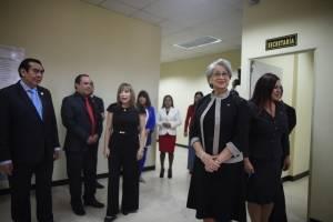 Instalan juzgado y tribunal para casos de trata en edificio de Corporación de Noticias