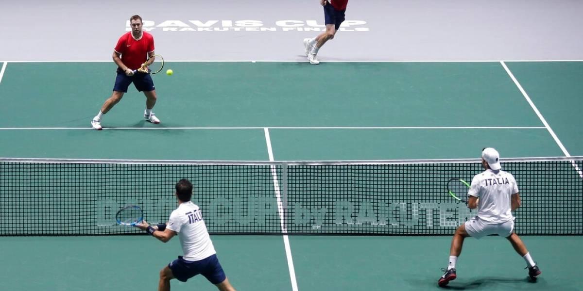 La nueva Copa Davis hizo que EE.UU e Italia terminaran de jugar a las 4 de la madrugada