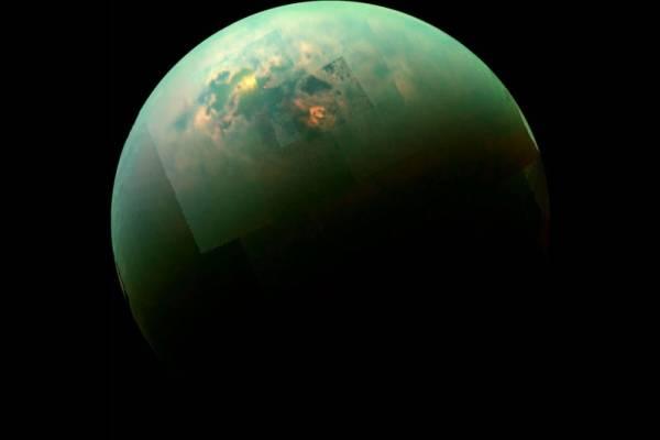 Resultado de imagen de Titán, la luna enigmática