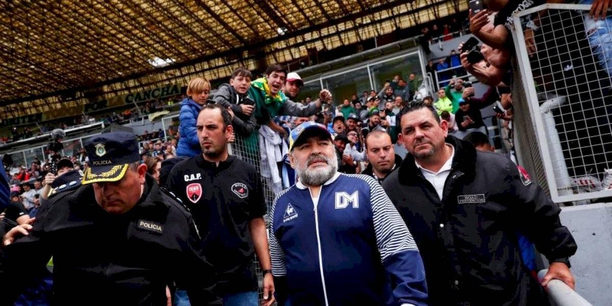 Diego Maradona podría regresar al banquillo de Gimnasia