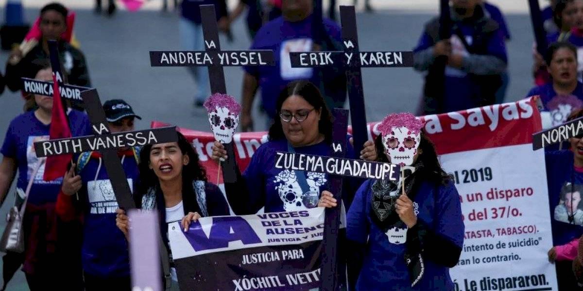 """""""Mujeres por la paz"""" vigilarán la marcha de este lunes de colectivos feministas"""