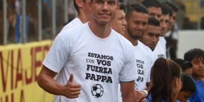 Apoyo a Marco Pappa