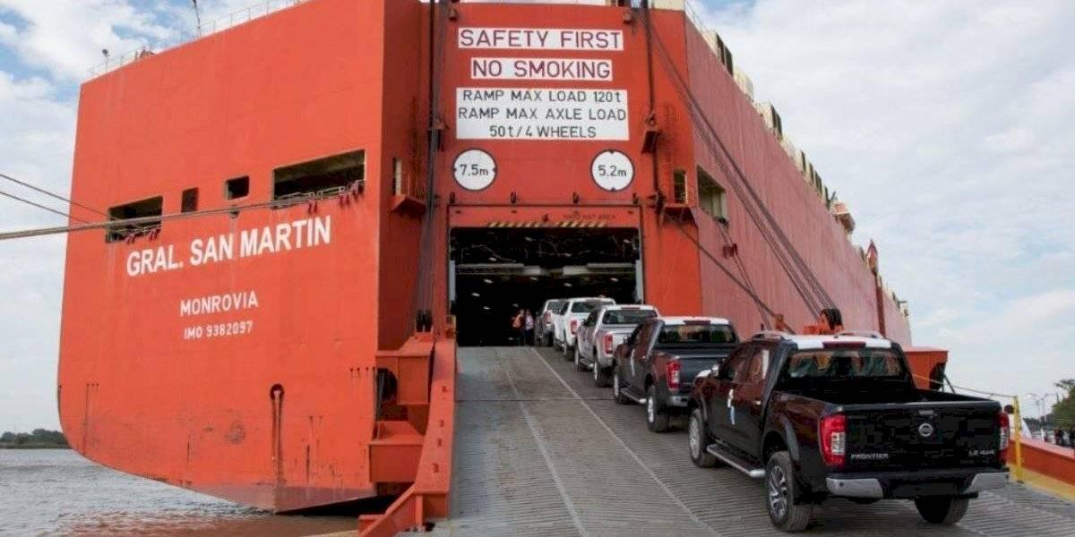 Nissan llega a las diez mil exportaciones de su Frontier desde Argentina