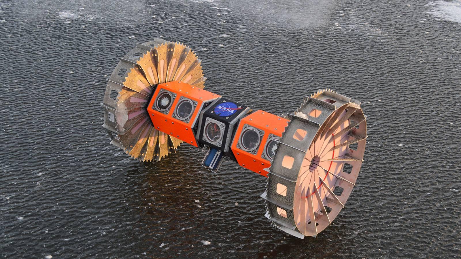 Expertos probarán Rover de la NASA en la Antártica que viajará a Luna de Saturno en pocos años más