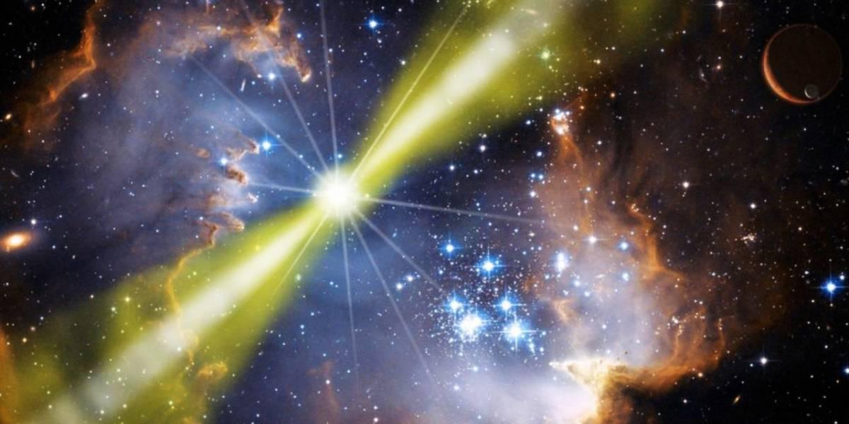Espacio: Se registra la mayor explosión de rayos gamma en la historia