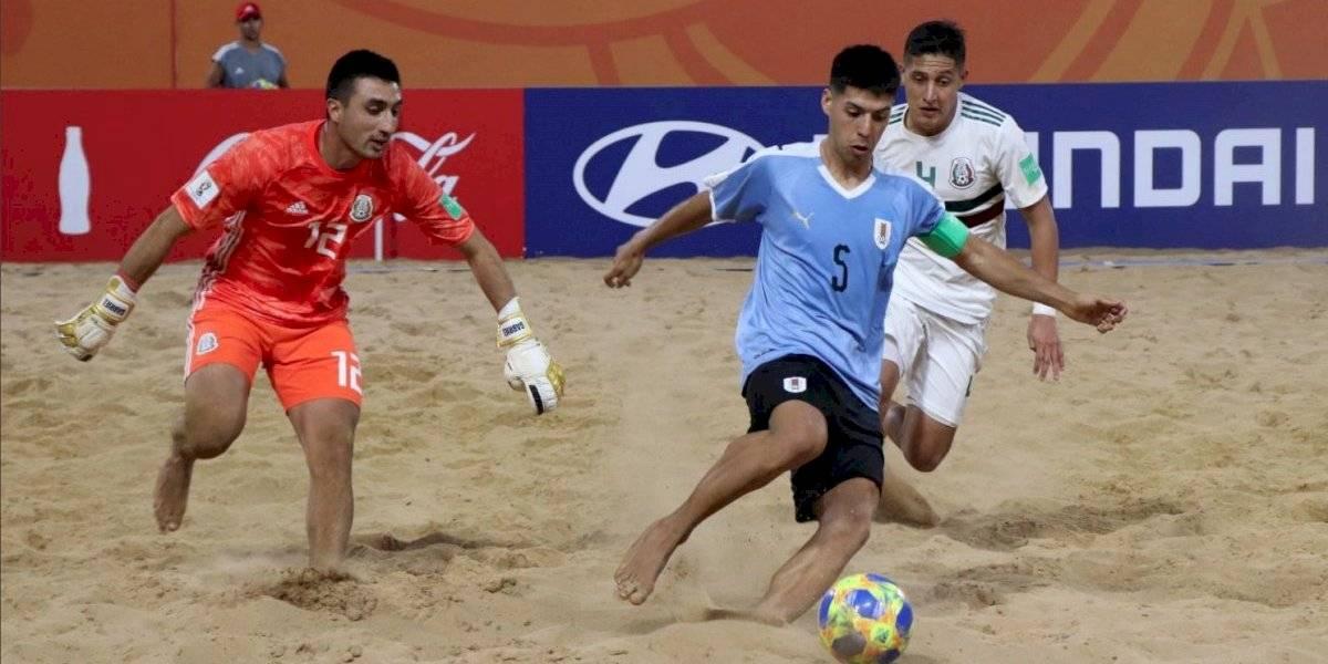 México inicia con el pie izquierdo participación en Mundial de futbol de playa