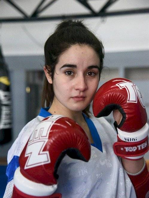 Váleri Castañeda Mundial Kickboxing Mundial Turquía