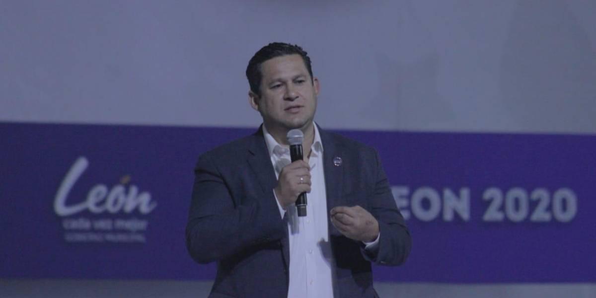 Diego Sinhue presenta la Feria Estatal de León 2020