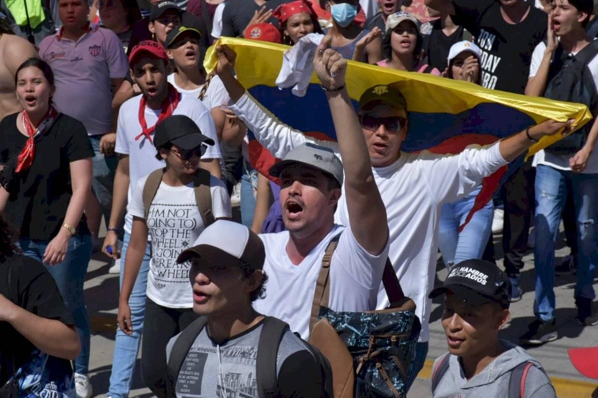 Diversos sectores de la población se dieron cita para la movilización María Paula Suárez/Publimetro Colombia