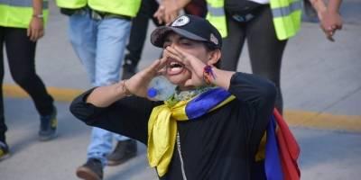 Miles protestan en Colombia contra el gobierno de Iván Duque